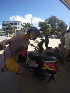 First day with a motor-scooter in Pai, Thailand. #itslove